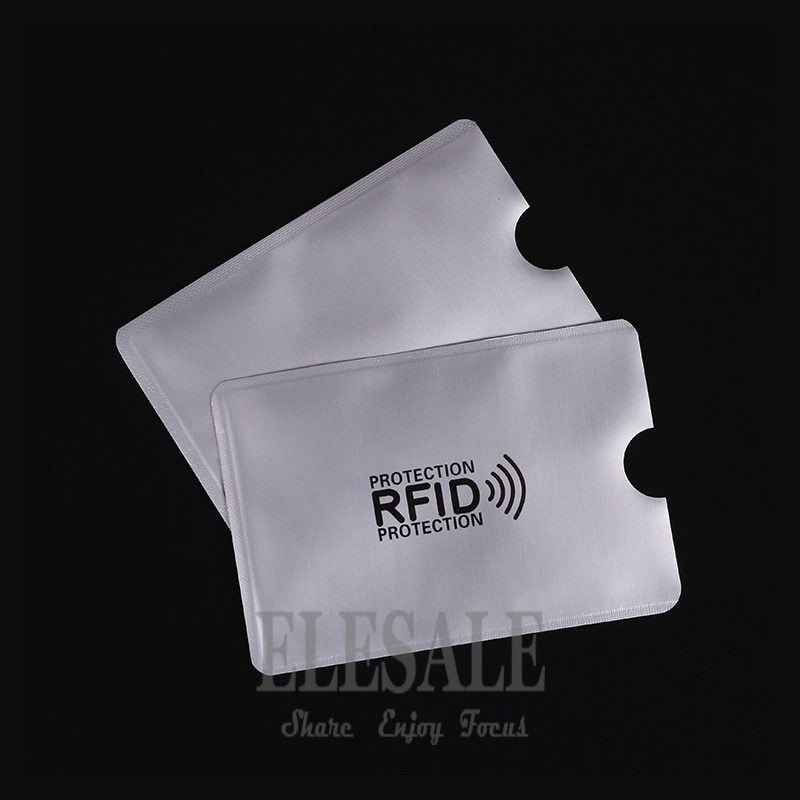 10 pcs Cedit Card RFID Card Sleeve Protector Anti Scan Anti-magnetic Aluminum Foil Card Holder For Access Control White Card e cap aluminum 16v 22 2200uf electrolytic capacitors pack for diy project white 9 x 10 pcs
