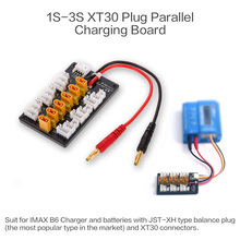 1-3S XT30 Plug Li-Po Battery Parallel Charging Board JST Female Cables for IMAX B6 Charger RC Car Ho