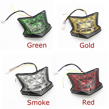 For Kawasaki Ninja 650 Z900 Z650 Z 650 17-2018 Motorcycle LED Rear Tail Light Brake Stop Light Turn Signals Light Indicator MOTO