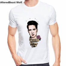 b2dfd31d0 Fashion PANIC AT THE DISCO T Shirt Things Are Shaping Up To Be Pretty T  Shirt Boy 2019 New Arrival Tee