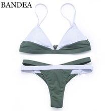 BANDEA bikinis women 2017 Sexy Push Up Bikinis Strappy Swimsuit Swim Wear Bathing Suit Swimwear Women Brazilian Bikini