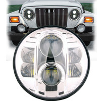 7INCH High Power Round LED Auto Headlight for Jeeps JK 80W Seal Beam LED Motorcycle Headlight