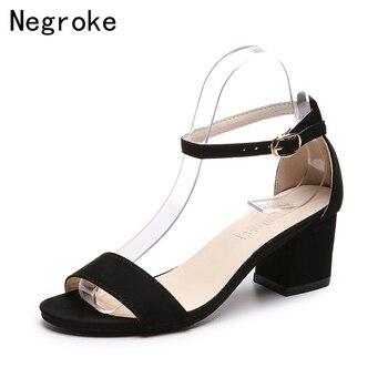 8f2c3d2590e9 2019 летние сандалии-гладиаторы; женская обувь; Классические босоножки на  высоком ...