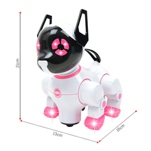 Electronic Lighting Dog Robot