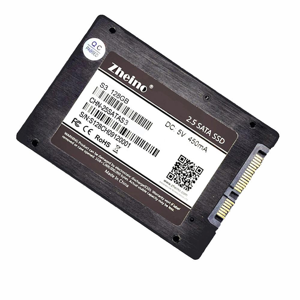 Zheino SATA3 SSD 128GB 256GB 512GB SATAIII Internal Solid Disk Drives SSD For Laptop Desktop цена