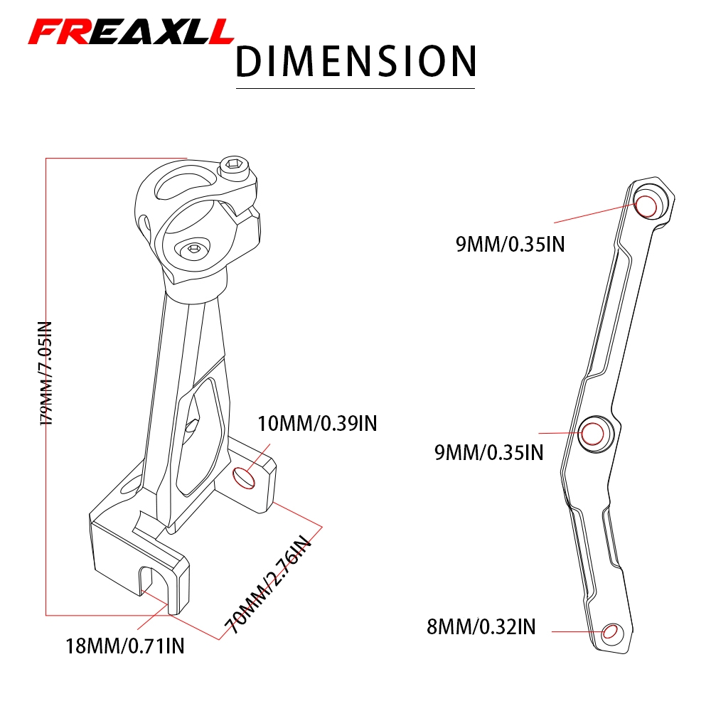 Motorcycles Adjustable Steering Stabilize Damper Bracket Mount Support Kit For YAMAHA MT 09 MT09 FZ09 FZ 09 2013 2014 2015 2016 in Covers Ornamental Mouldings from Automobiles Motorcycles