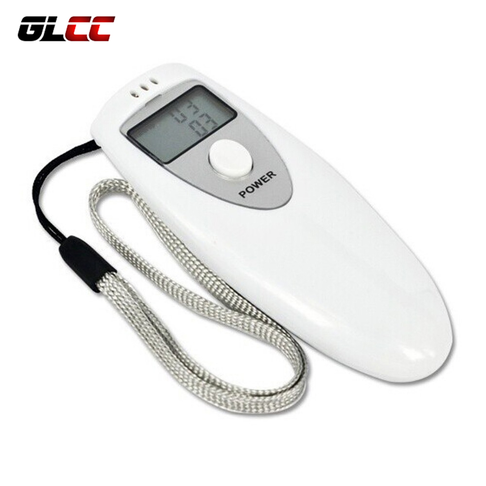 Able Glcc Breathalyzer Lcd Alcohol Detection Device For Drivers Breath Analyzer Detector Professional Digital Alcohol Tester