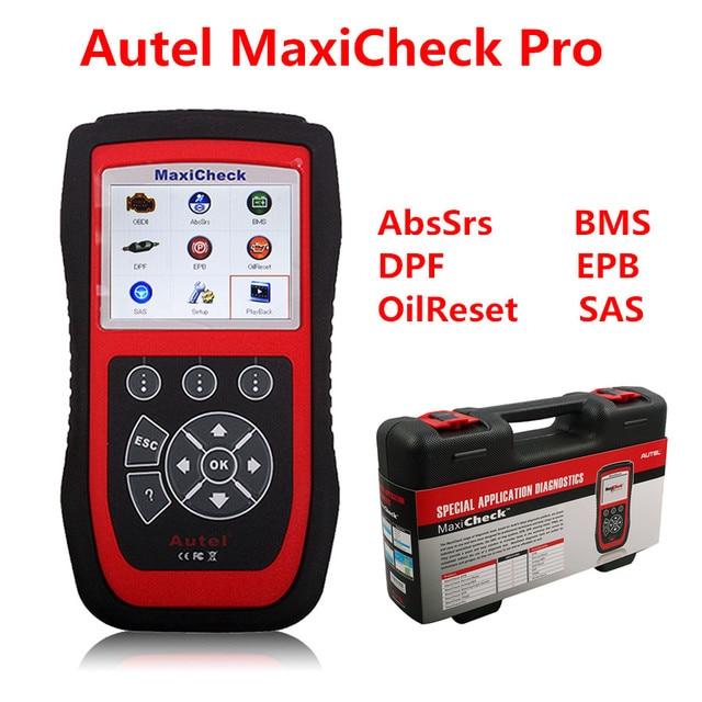 Автоматический диагностический сканер Autel MaxiCheck Pro EPB/ABS/SRS/TPMS/DPF/Ойл Сервис/Подушка Безопасности отдых инструмент Функция Диагностики автомобилей сканер