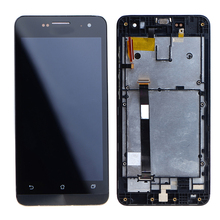 New LCD Module For Asus Zenfone 5 A501CG A500CG/KL LCD Display Digitizer Touch Screen Bezel Frame Assembly VI254 T16 0.35