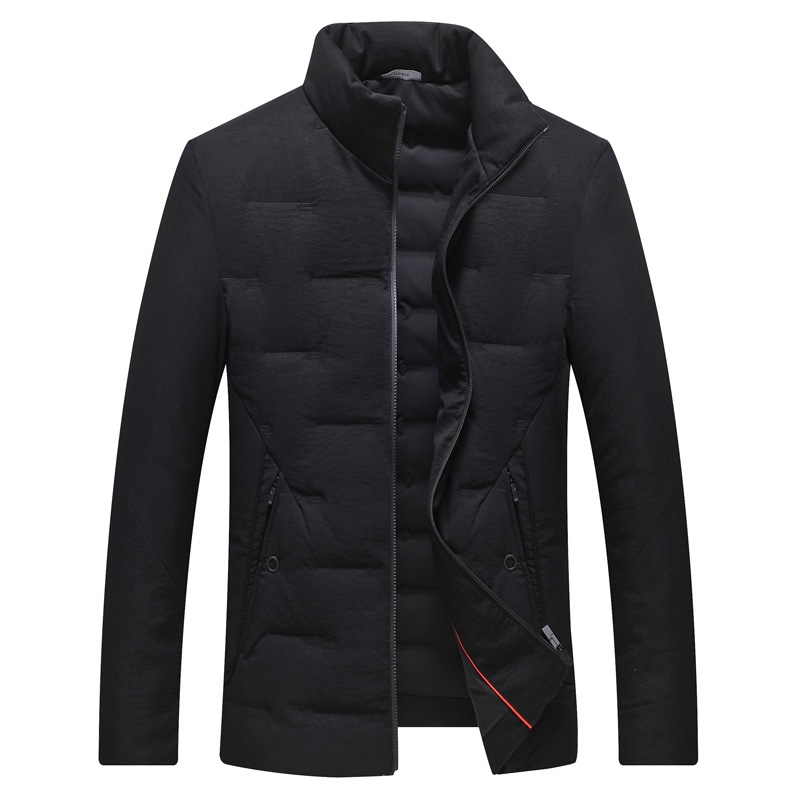 DZYS White Duck   Down   Jacket Slim Warm   Down     Coat   for Men Male 7421