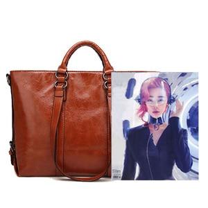 Image 4 - 럭셔리 핸드백 여성 가방 여성을위한 디자이너 PU 가죽 핸드백 어깨 가방 2020 큰 숙녀 손 가방 Bolsa Feminina A003