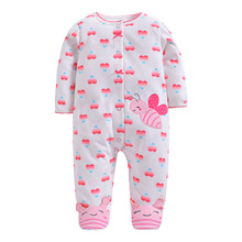 hot deal buy 2019 baby rompers fleece jumpsuit comfortable clothing for new born babies 0-1y baby wear , newborn baby clothing bebes