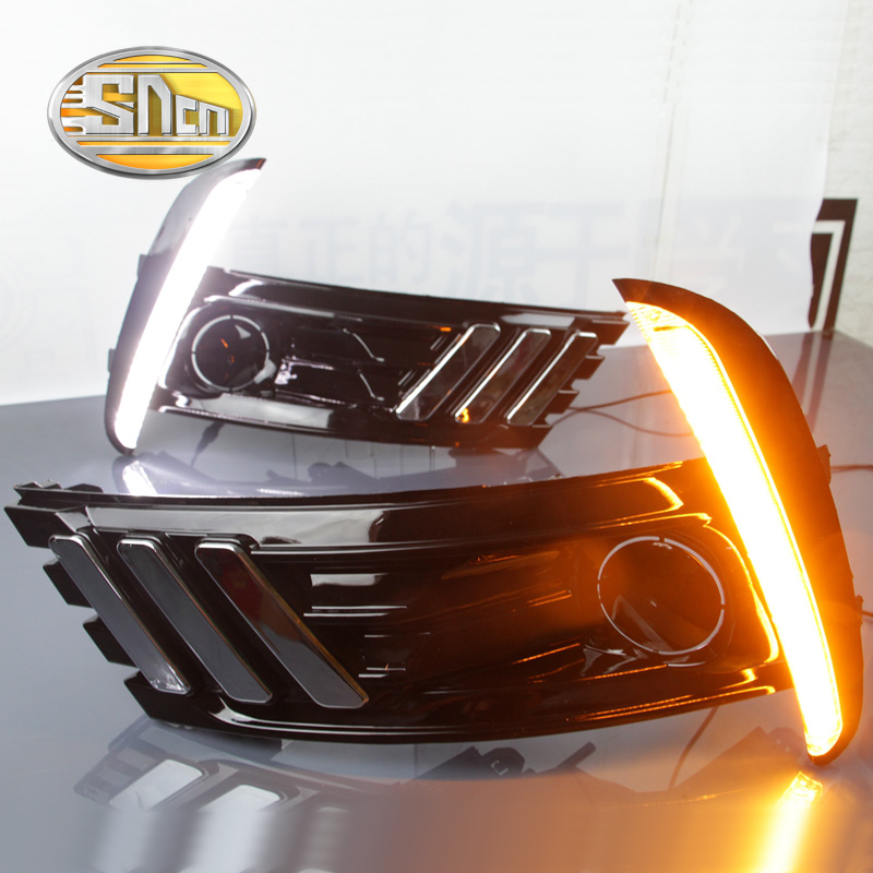 SNCN LED Daytime Running Light For Toyota Corolla 2017 2018,Car Accessories Waterproof ABS 12V DRL Fog Lamp Decoration цена