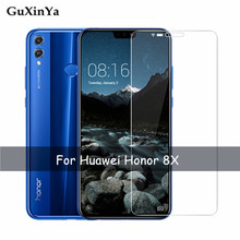 2pcs Tempered Glass Honor 8x Screen Protector For Huawei Anti-scratch Film JSN-L11Protective Front