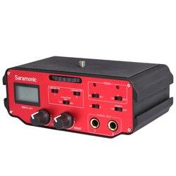 Saramonic Bmcc-A01 Camera Universal Microphone Audio Adapter Mixer Professional for Blackmagic Cinema Camera