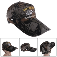 d37e162bbfe Adjustable Men Women Unisex Outdoor Fishing Cap Hat Military Hunting  Baseball Hat Breathable Camouflage Popular Trend