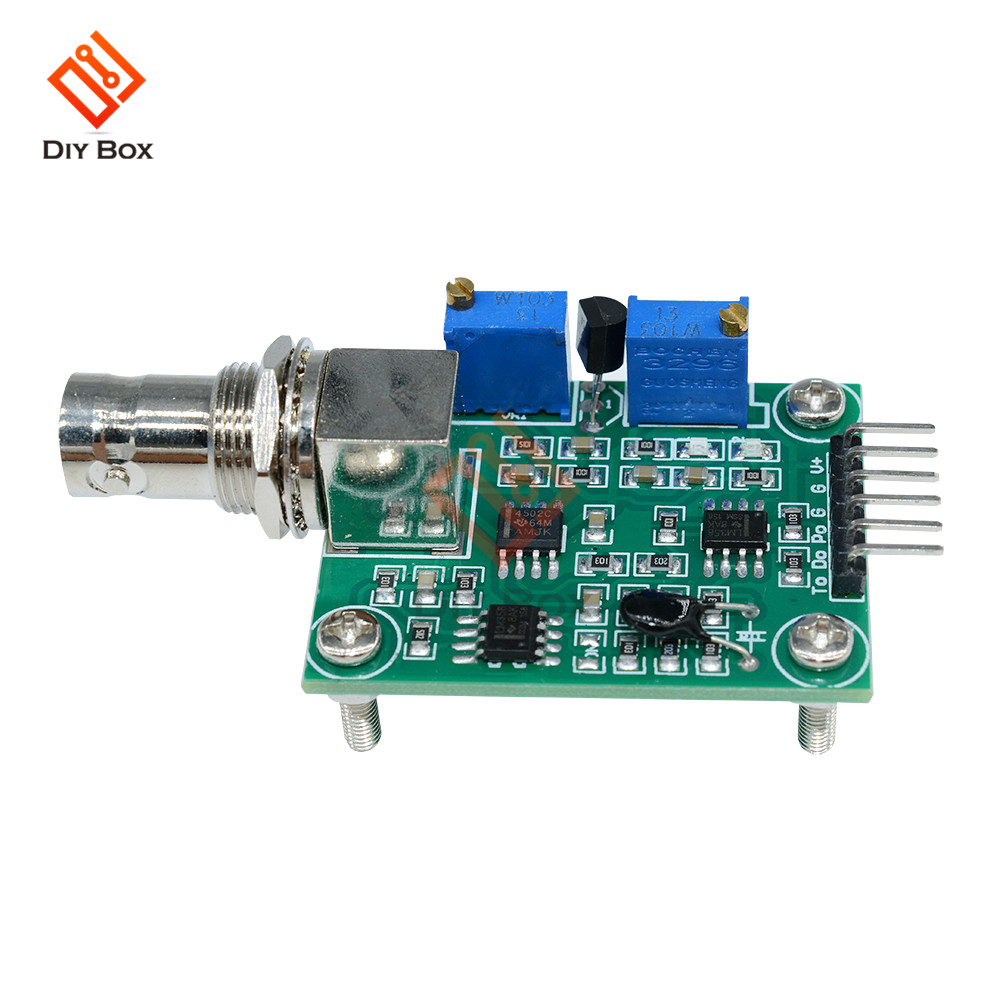 5-10mA Liquid Water Liquid <font><b>PH</b></font> Value Detector Regulator Sensor <font><b>Module</b></font> Water <font><b>PH</b></font> Monitor Control Meter Tester <font><b>PH</b></font> 0-14 for Arduino image