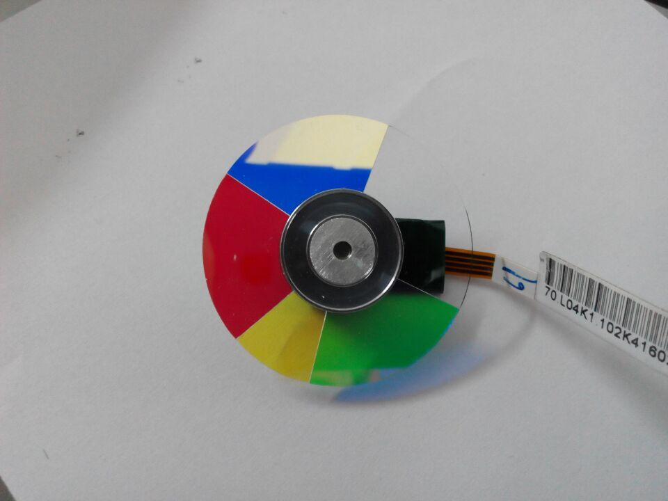 Projector Color Wheel For VIVITEK D535 D532 VK509 VK508 S510 D531 проекторы vivitek qumi q3 plus black
