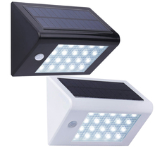 20 LED Outdoor Wall Lamp Brightness Solar Powered Outdoor Lighting Waterproof Solar Power Motion Sensor Garden Light 350LM