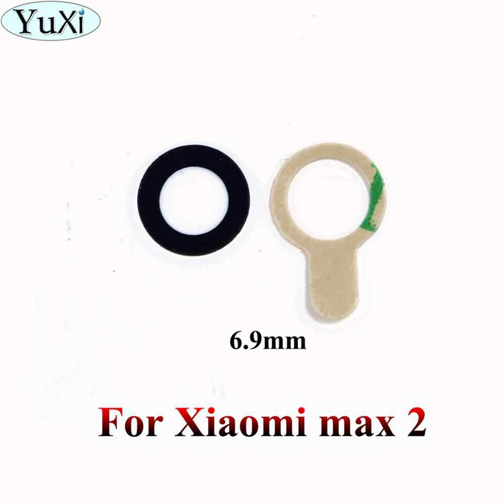 YuXi New Rear Back Camera Glass Lens Cover For Xiaomi Mi Mix 2 2S Max 2 3 F1 for mi 5 6 8 with Ahesive Sticker Replacement Parts