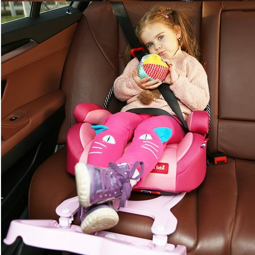 Car child safety seat height pad baby cushion ISOFIX hard interface