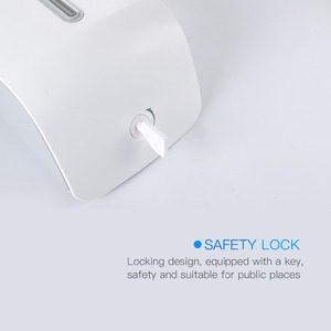 Image 5 - אמבטיה סבון קצף 1000ml קיר רכוב אינפרא אדום מובנה חכם חיישן מקלחת שמפו קצף סבון Dispenser