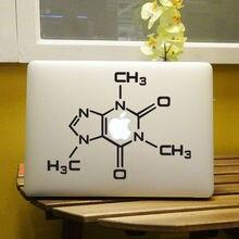 Caffeine Molecule Chemistry Laptop Decal for Apple MacBook Air Pro Retina 11″ 12″ 13″ 15″ Computer Skin Vinyl Notebook Sticker