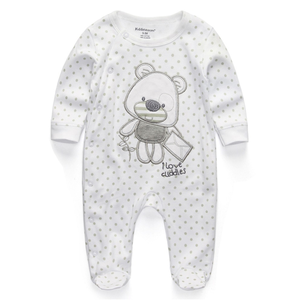 Baby Clothing 2019 New Newborn Jumpsuits Outfits Baby Boy Girl Romper Clothes Long Sleeve Infant Product