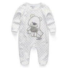 Одежда для малышей; Новинка года; комбинезоны для новорожденных; Комбинезон для маленьких мальчиков и девочек; одежда с длинными рукавами для младенцев