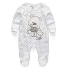 Baby Clothing 2019 New Newborn jumpsuits Baby Boy Girl Romper Clothes Long Sleeve Infant Product(China)