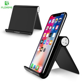 FLOVEME Desk Mobile Phone Holder Stand For iPhone X 7 6 Samsung Xiaomi Smartphone Holders Mount For iPad Pro Tablet Stand Holder