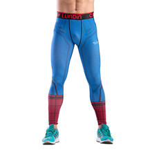 цены на Men Sweatpants 3D Printing Elastic Compression Sport Pants Leggings Running Tights Jogging Fitness Gym Workout Pant Sportswear в интернет-магазинах