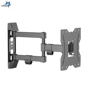 Image 5 - Ultra Slim TV do montażu na ścianie Full Motion przegubowe ramię obrotowe i pochylenia TV uchwyt do LCD, LED, 3D telewizor plazmowy