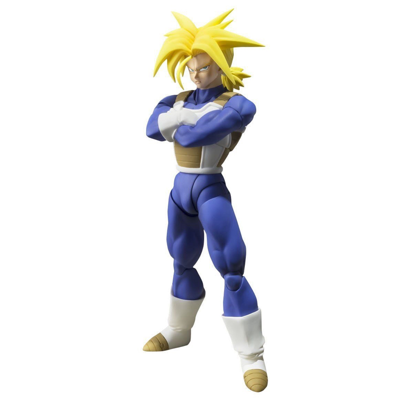 S.H. F dragon ball SUPER SAIYAN troncs figurine japon Anime de collection mascotte jouets 100% Original