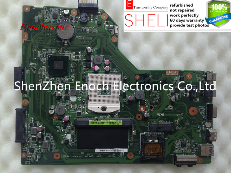 K54C main board, motherboard for asus laptop 4GB RAM REV:2.1 full tested working perfecly intel HD graphic chip,SHELI store free shipping for asus a54c x54c k54c laptop motherboard main board rev 2 1 with 4gb memory 100