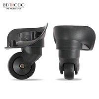 BDTHOOO גלגלי מזוודות לנסיעות החלפת תיקון מזוודות מזוודות עגלת אביזרי גלגלי ספינר PVC RA300-WXL