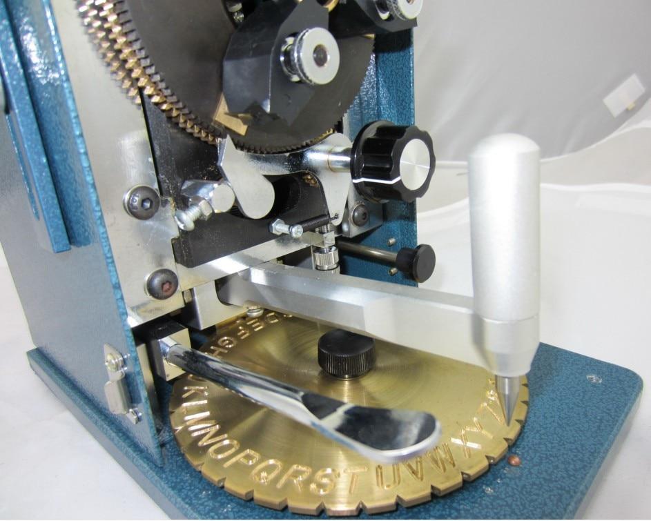 Machine de gravure à anneaux