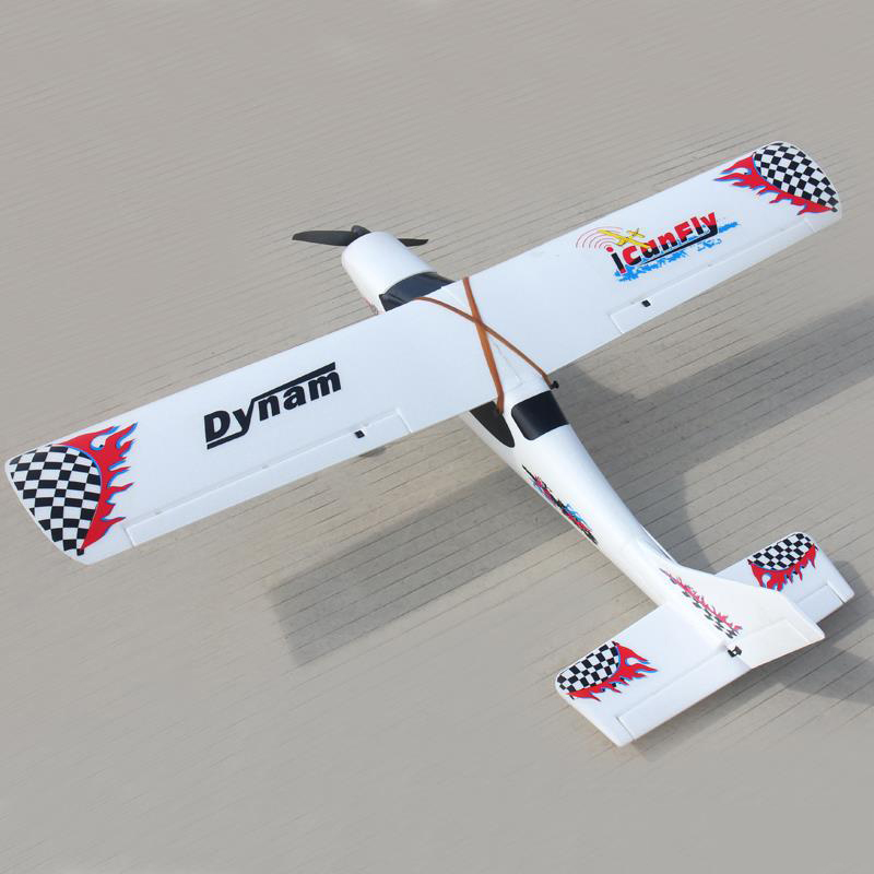 Dynam 1200mm I Can Fly RC PNP/ARF Propeller Plane W/ Motor ESC Servo W/O Battery arf combo package including motor esc servo propeller remote control electric powered new hugin 2 2m v tail glider rc airplane v
