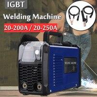 220 В MMA 200/MMA 250 инвертор DC ручной работы шокирующие arc сварочный аппарат электродуговой сварщиков