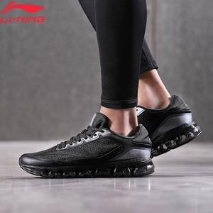 Image 1 - Li Ning Men BUBBLE ARC Running Shoes Air Cushion TPU Support LiNing li ning ARC Sport Shoes Light Weight Sneakers ARHN005 XYP872