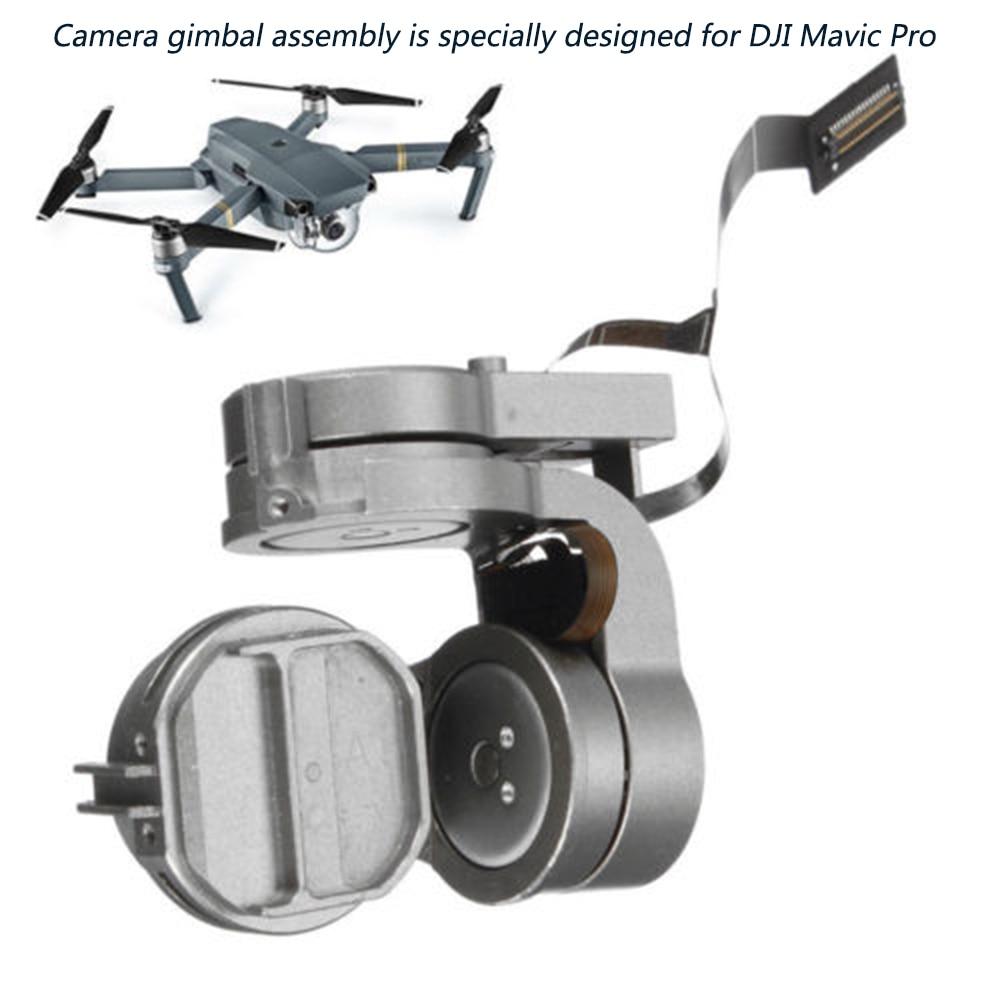 HD 4 K Cam cardan pièce de réparation d'origine cardan bras moteur avec câble flexible pour DJI Mavic Pro RC Drone FPV DJI Mavic Pro objectif de caméra