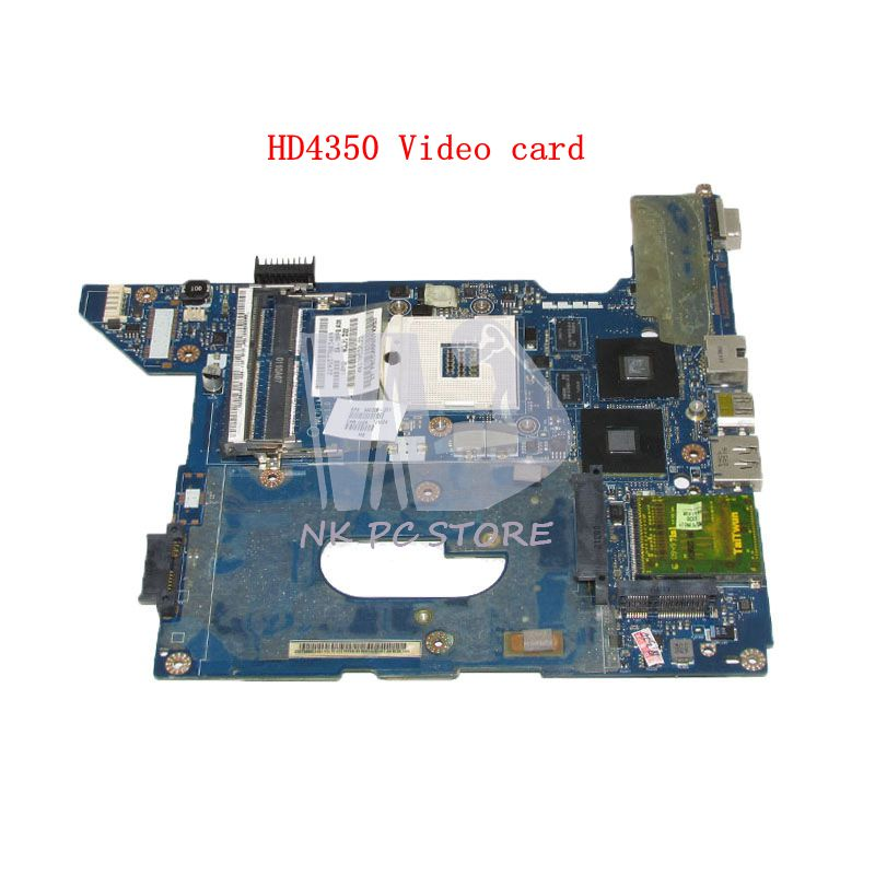 NOKOTION For HP Compaq CQ41 Laptop motherboard HM55 DDR3 Mobility Radeon HD4350 Video card 590329-001 NAL70 LA-4107P for acer aspire 5710g 5920g 6530g 6920g notebook pc ati mobility radeon hd 3650 hd3650 ddr3 256mb mxm ii graphics video