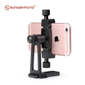Image 3 - SUNWAYFOTO CPC 01 携帯電話アクセサリー専門のデスクとスタンドプロ三脚電話ホルダーブラケット