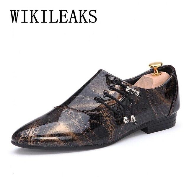 1103f3207b Pontas do dedo do pé sapatas de vestido dos homens sapatos pretos de couro  de patente sapatos oxford para os homens designer ...