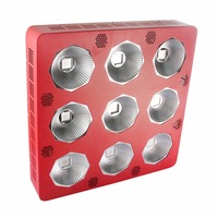 Max 9 LED plant growth lights cob 900W full spectrum panel grow led lamp cultivo indoor hidroponia system greenhouse