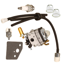 Primer Bulb Carburetor kit Fuel Filter Line Carb Washer Spark Plug String Trimmer For Shindaiwa C230 бензопила shindaiwa 305s 12 дюймов