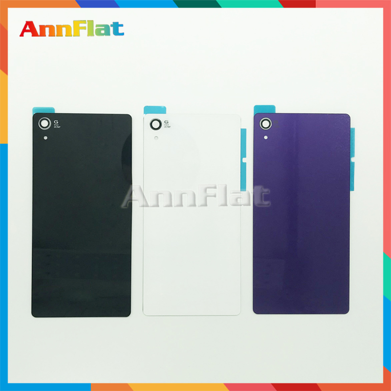 High Quality For <font><b>Sony</b></font> Xperia <font><b>Z2</b></font> D6543 L50W D6503 Back Housing <font><b>Battery</b></font> <font><b>Cover</b></font> Door Rear <font><b>Cover</b></font> Replacement image