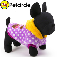 Petcircle New arrivals Pet Dog Cat Clothes in winter Cute bear Dog Clothing for chihuahua 4 colors Size XXS-L