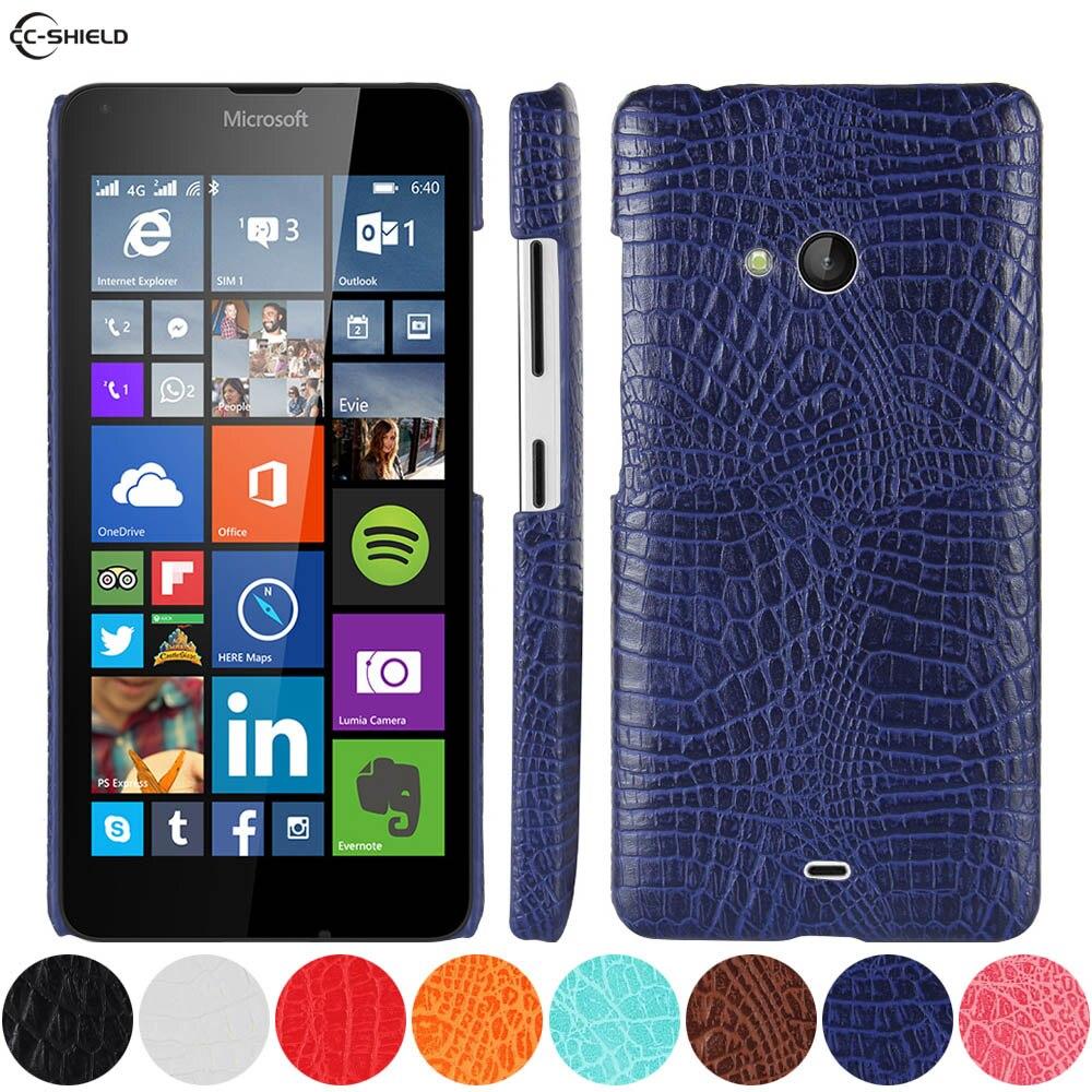 US $4.22 10% OFF|Ledertasche für Microsoft Lumia 540 Dual RM 1140 RM 1141 Telefon Stoßfänger einbau Fall für Nokia Lumia540 RM 1140 1141 Harte PC