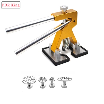 PDR KING Tools Paintless Dent Repair Tools Dent Removal Dent Puller Tabs Dent Lifter Hand Tool Set PDR KING Toolkit